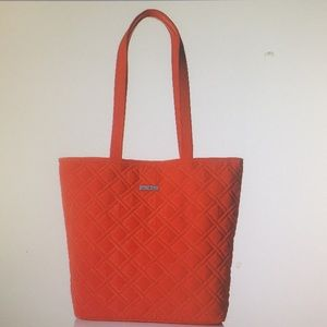 NEW Vera Bradley Tote, Tango Red, One Size